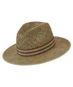 Καπέλο ψάθινο Fedora - STAMION