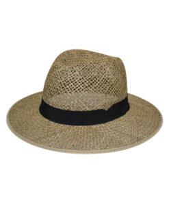 Καπέλο ψάθινο διάτρητο - STAMION