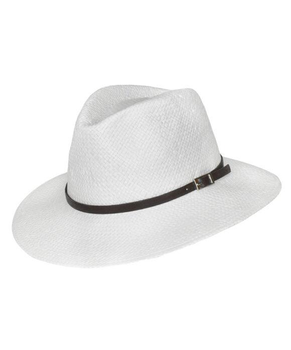 Καπέλο παραλίας ανδρικό με λουράκι - STAMION