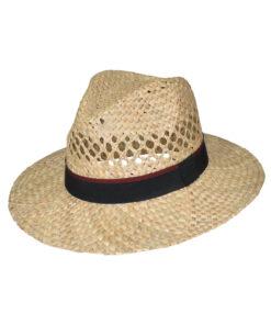 Καπέλο ψάθινο με διάτρητο σχέδιο - STAMION