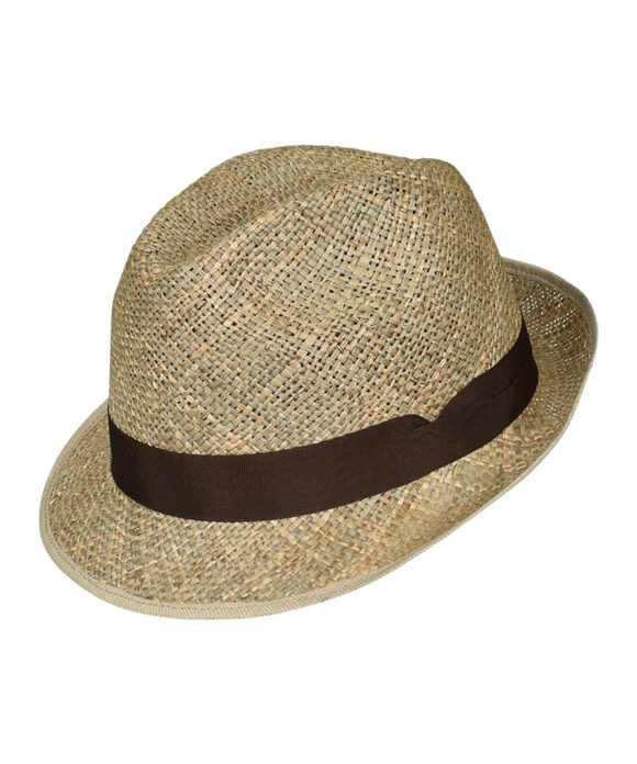 Καπέλο καβουράκι ψάθινο - STAMION