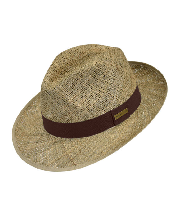 Καπέλο Bogart ψάθινο - STAMION