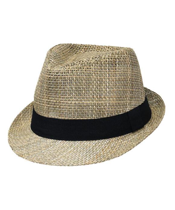 Καπέλο ψάθινο καβουράκι - STAMION