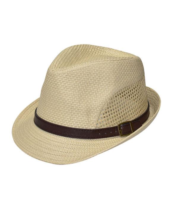 Καπέλο ανδρικό με λουράκι - STAMION
