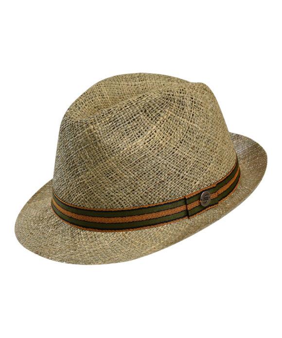 Καπέλο ψάθινο trilby freed - STAMION