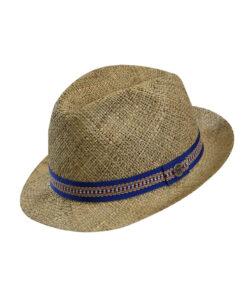 Καπέλο ψάθινο trilby Harlem - STAMION