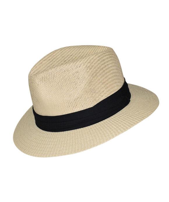 Καπέλο τύπου Παναμά με κορδέλα - STAMION