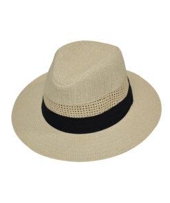 Καπέλο τύπου Παναμά διάτρητο - STAMION