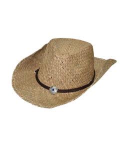 Καπέλο cowboy με κορδόνι - STAMION