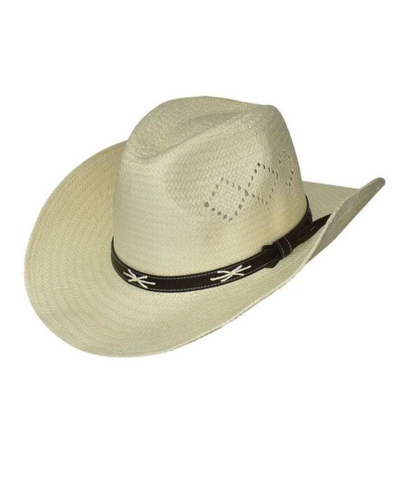Καπέλο cowboy με διακοσμιτικό λουράκι - STAMION