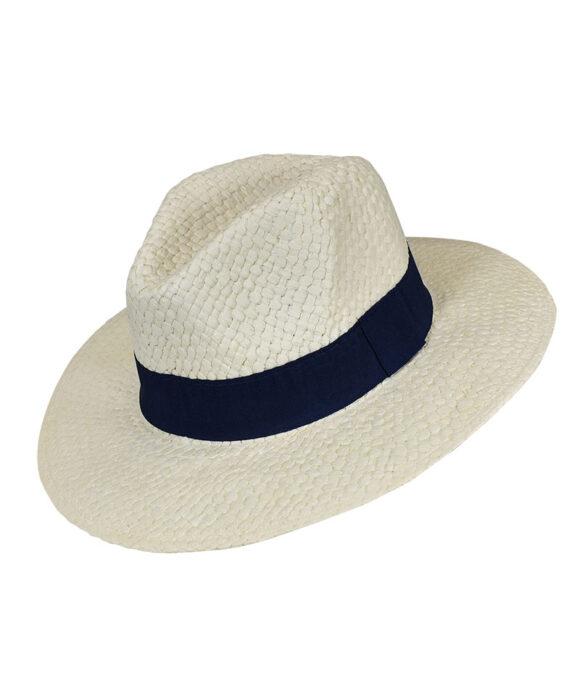 Καπέλο με μπλε κορδέλα - STAMION