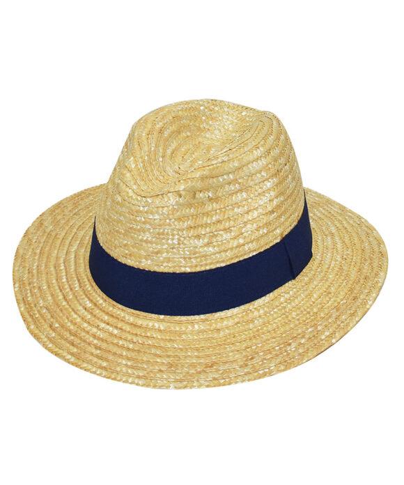 Καπέλο ψάθινο γαζωτό - STAMION