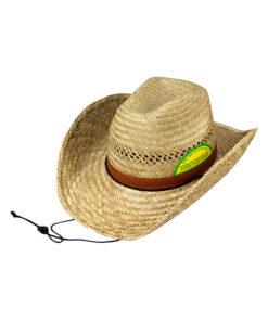Καπέλο cowboy από φυσική ψάθα - STAMION