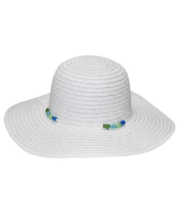 Καπέλο λευκό πλατύγυρο - STAMION
