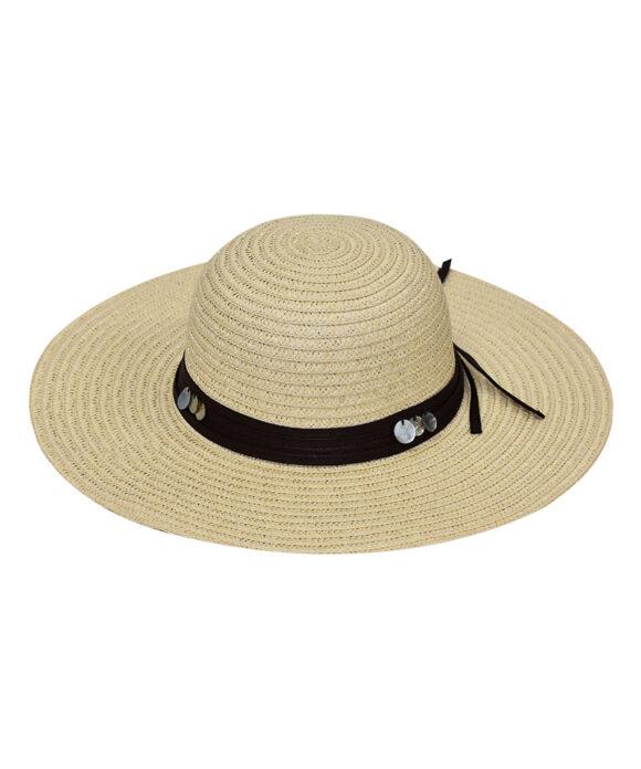 Καπέλο παραλίας με κοχύλια - STAMION