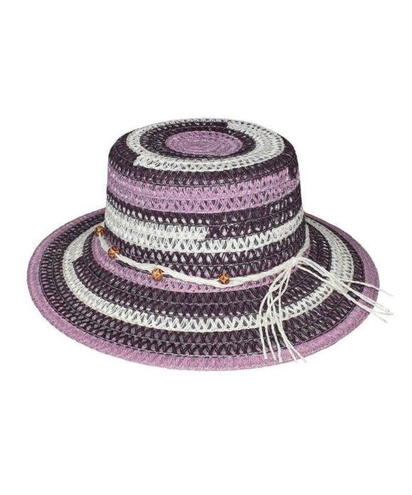 Καπέλο Κώνος Stamion με διακοσμιτική πλεξούδα - STAMION
