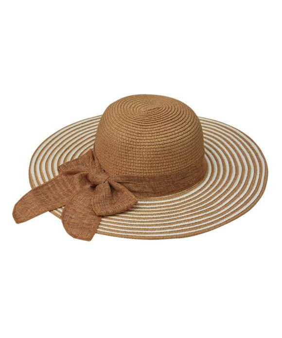 Καπέλο Floppy medium με λινή κορδέλα - STAMION