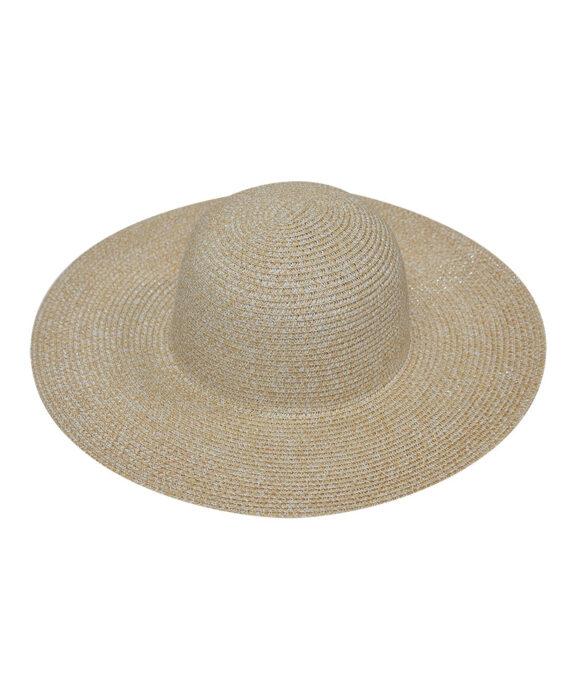 Καπέλο παραλίας floppy με δίχρωμη πλέξη - STAMION