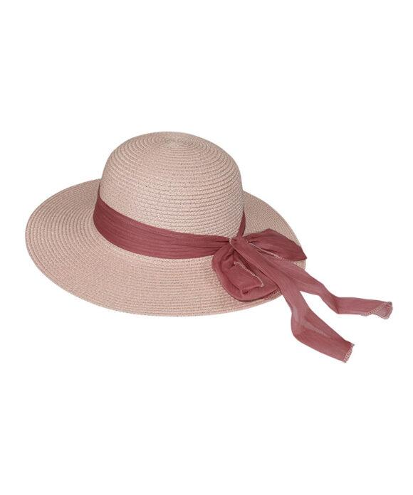 Καπέλο floppy με chiffon κορδέλα - STAMION