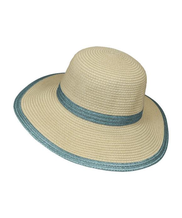 Καπέλο με μεταλλιζέ ρίγες - STAMION