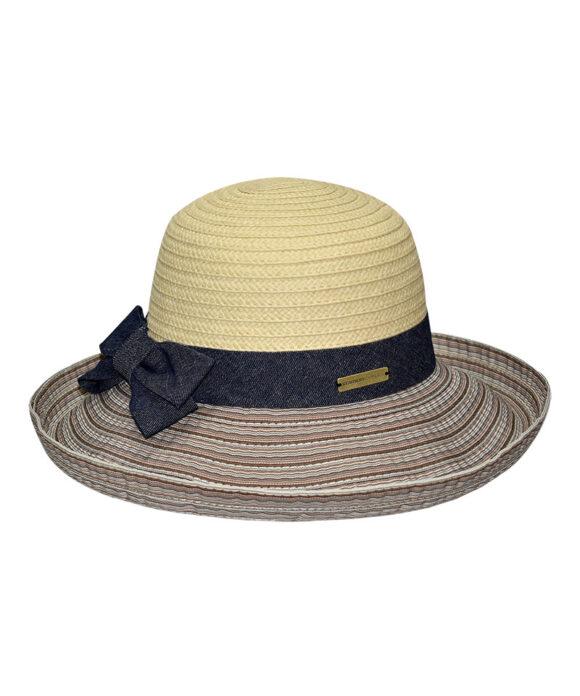 Καπέλο γυναικείο με φιόγκο - STAMION