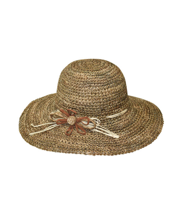 Καπέλο ψάθινο πλεκτό - STAMION