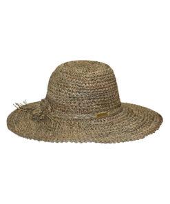Καπέλο ψάθινο πλεκτό γυναικείο - STAMION