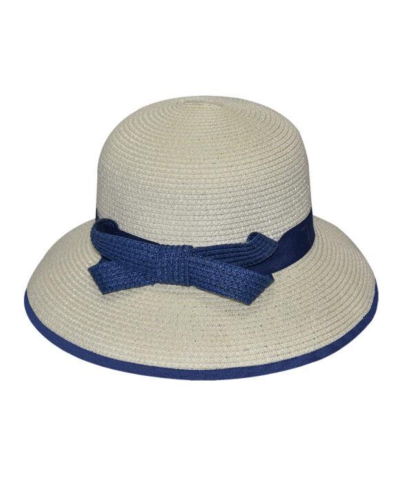 Καπέλο γυναικείο με κορδέλα και φιόγκο - STAMION