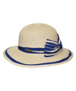 Καπέλο με δίχρωμο φιόγκο - STAMION