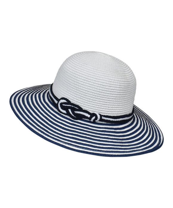 Καπέλο γυναικείο με ρίγες - STAMION