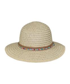 Καπέλο γυναικείο με πολύχρωμες χάντρες - STAMION