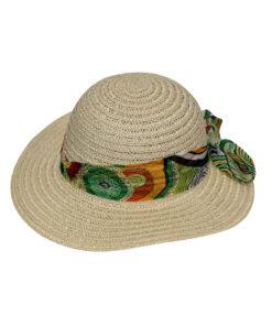 Καπέλο με πολύχρωμη κορδέλα - STAMION