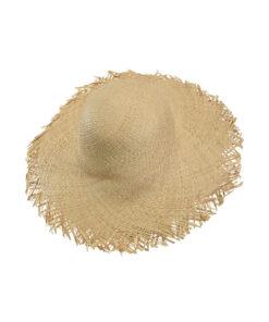 Καπέλο παραλίας με ξέφτια - STAMION
