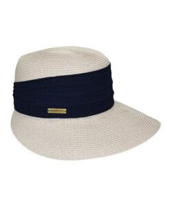 Καπέλο Elegant με φαρδιά κορδέλα - STAMION