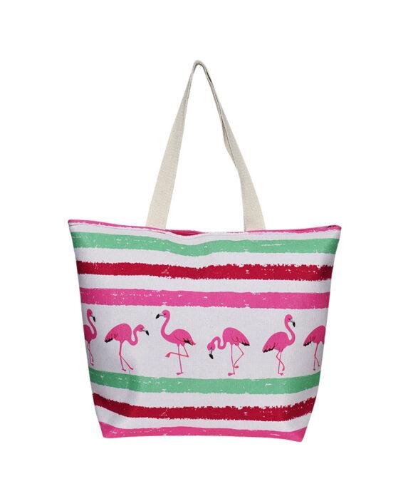 Τσάντα θαλάσσης Flamingo - STAMION