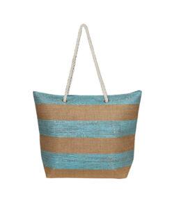 Τσάντα θαλάσσης με ρίγες - STAMION