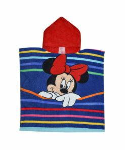 Πόντσο θαλάσσης Disney Minnie με ρίγες - MINNIE