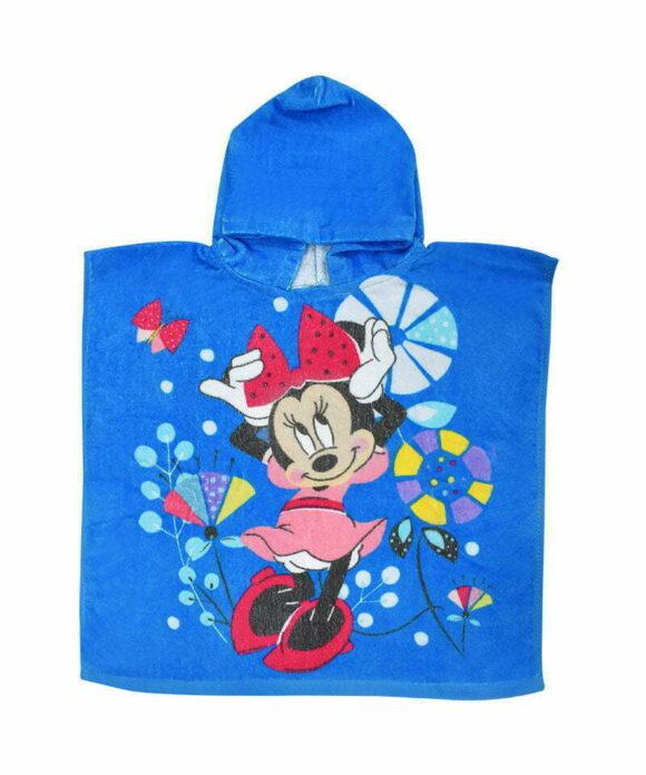 Πόντσο θαλάσσης Disney Minnie λουλούδια - MINNIE
