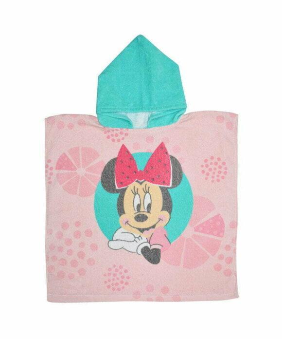 Πόντσο θαλάσσης Disney Minnie portrait - MINNIE