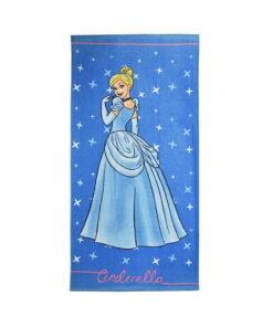 Πετσέτα θαλάσσης Disney Princess Cinderella - PRINCESS
