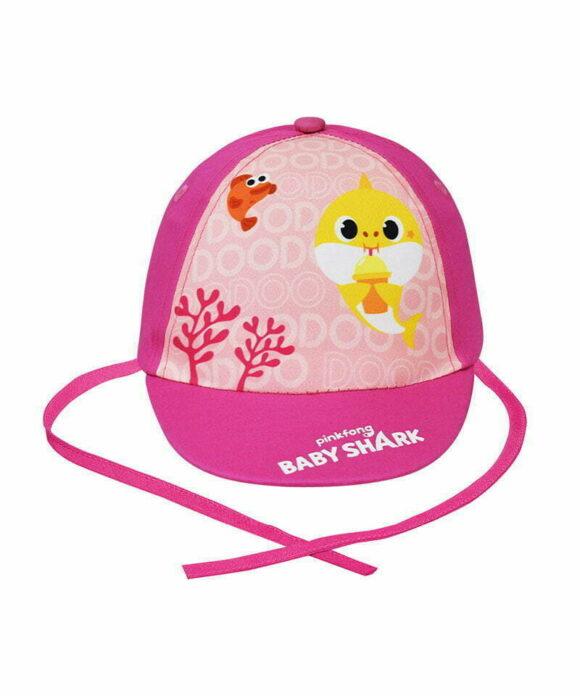 Καπέλο μπεμπέ Baby Shark για κορίτσι - BABY SHARK