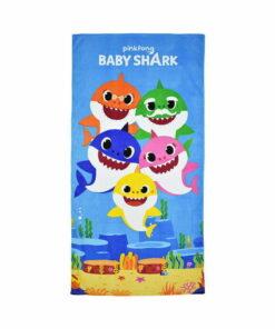 Πετσέτα θαλάσσης Baby Shark family - BABY SHARK