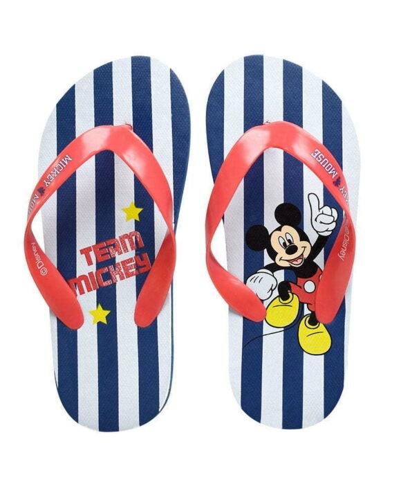 Σαγιονάρες Disney Mickey με ρίγες - MICKEY