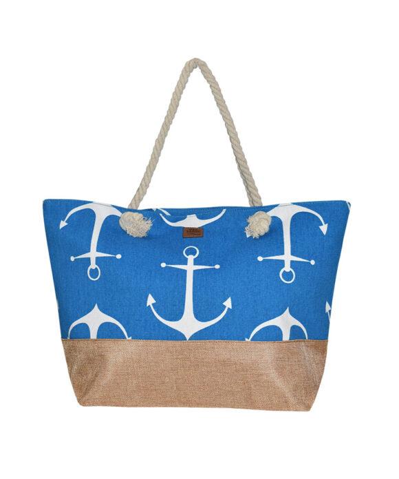 Τσάντα θαλάσσης με άγκυρες - STAMION