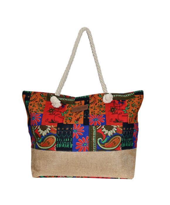 Τσάντα θαλάσσης Sweet Years boho - STAMION