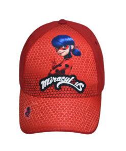Παιδικό καπέλο τζόκεϋ  MIRACULOUS LADYBUG - MIRACULOUS LADYBUG