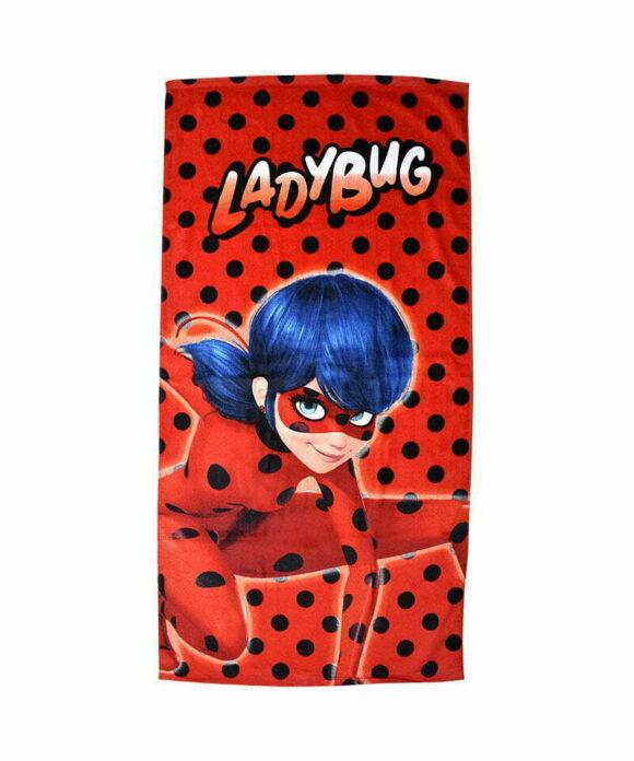 Πετσέτα θαλάσσης Miraculous Ladybug στην πόλη - MIRACULOUS LADYBUG