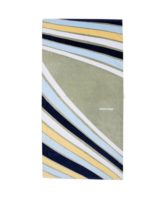 Πετσέτες θαλάσσης Pantone πράσινη - PANTONE