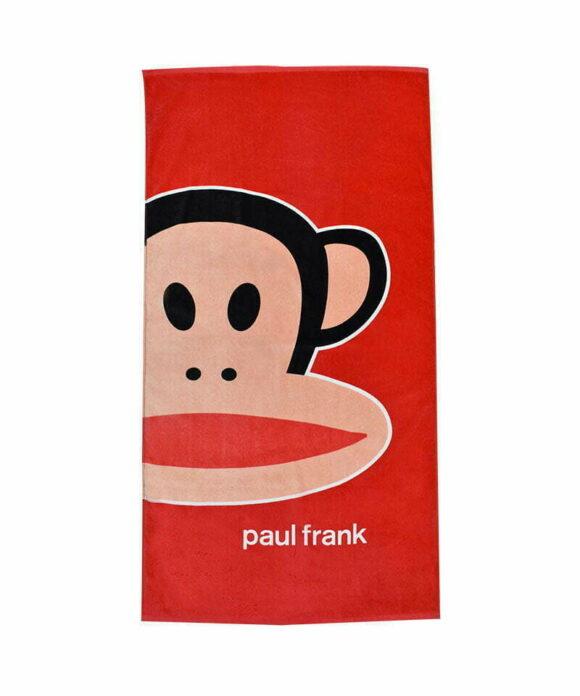 Πετσέτα θαλάσσης Paul Frank κόκκινη - PAUL FRANK