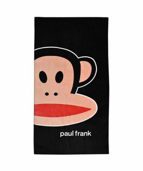 Πετσέτα θαλάσσης Paul Frank μαύρη - PAUL FRANK